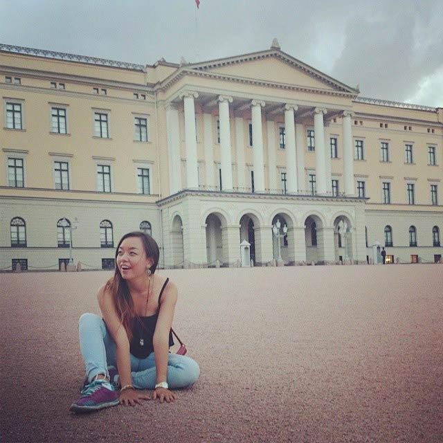 Happy Leonie in Norway