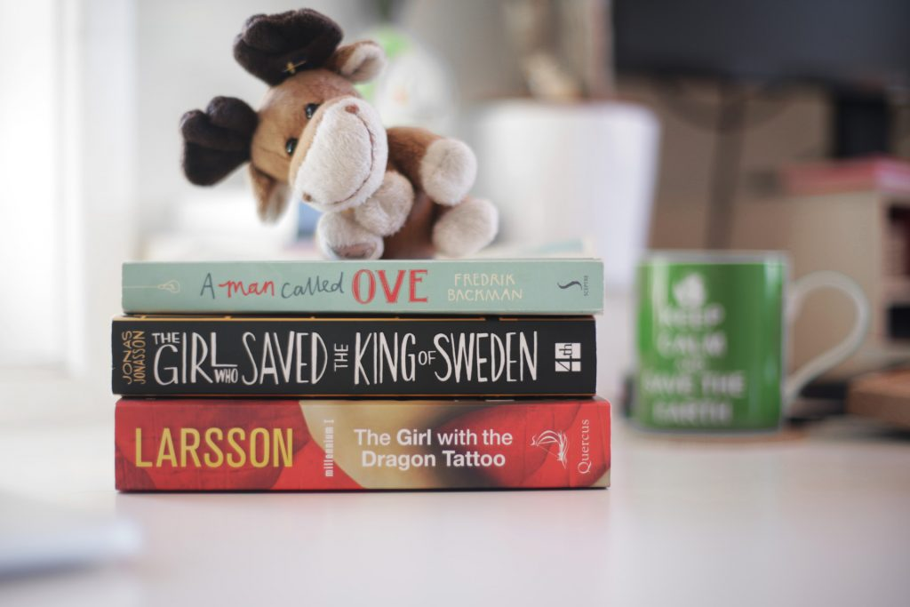 3 of my favourite books set in Sweden