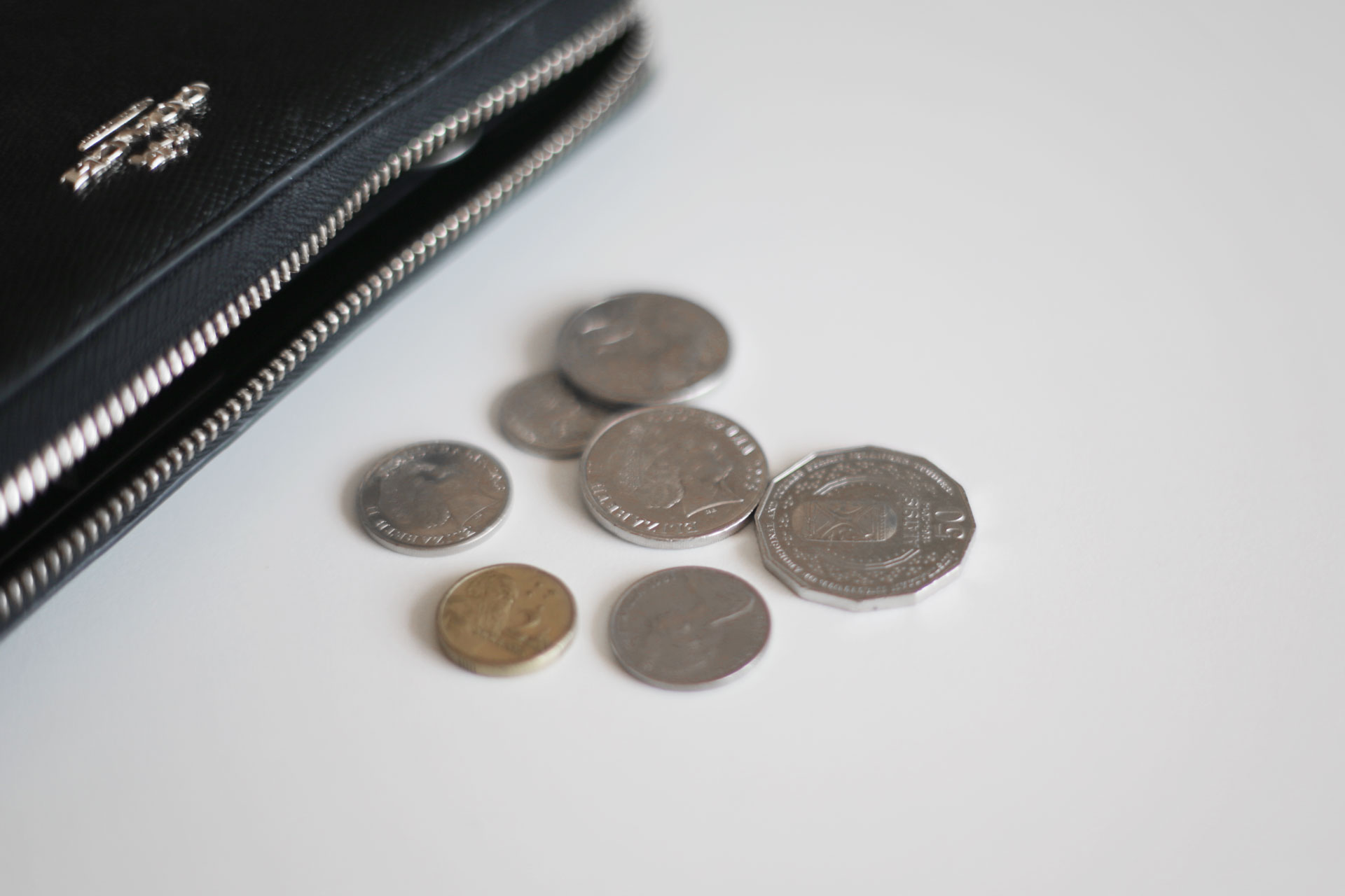 Avoid using your card and use cash instead