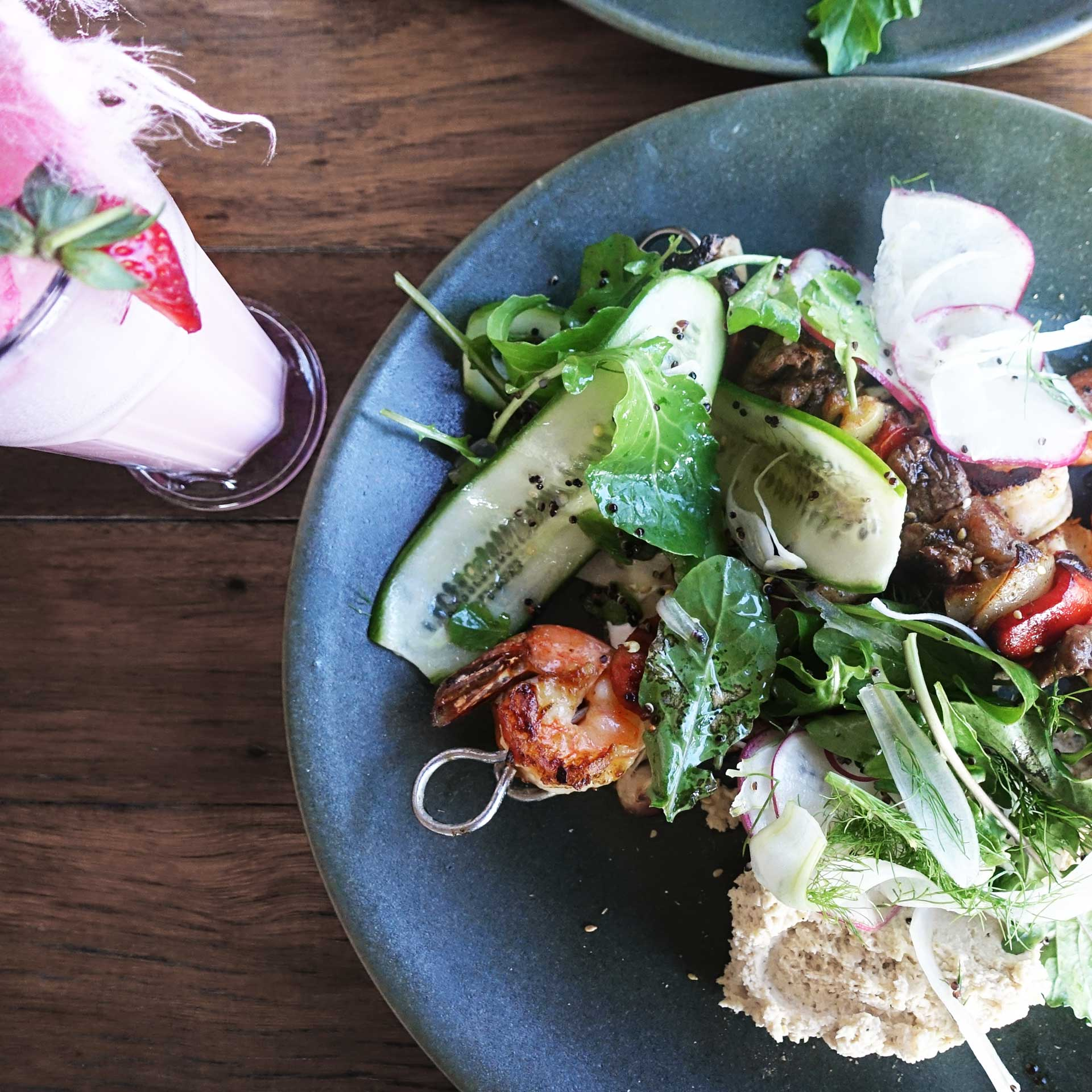 Middle Eastern Grill, Countrside Brunch at Wildpear Cafe, Dural
