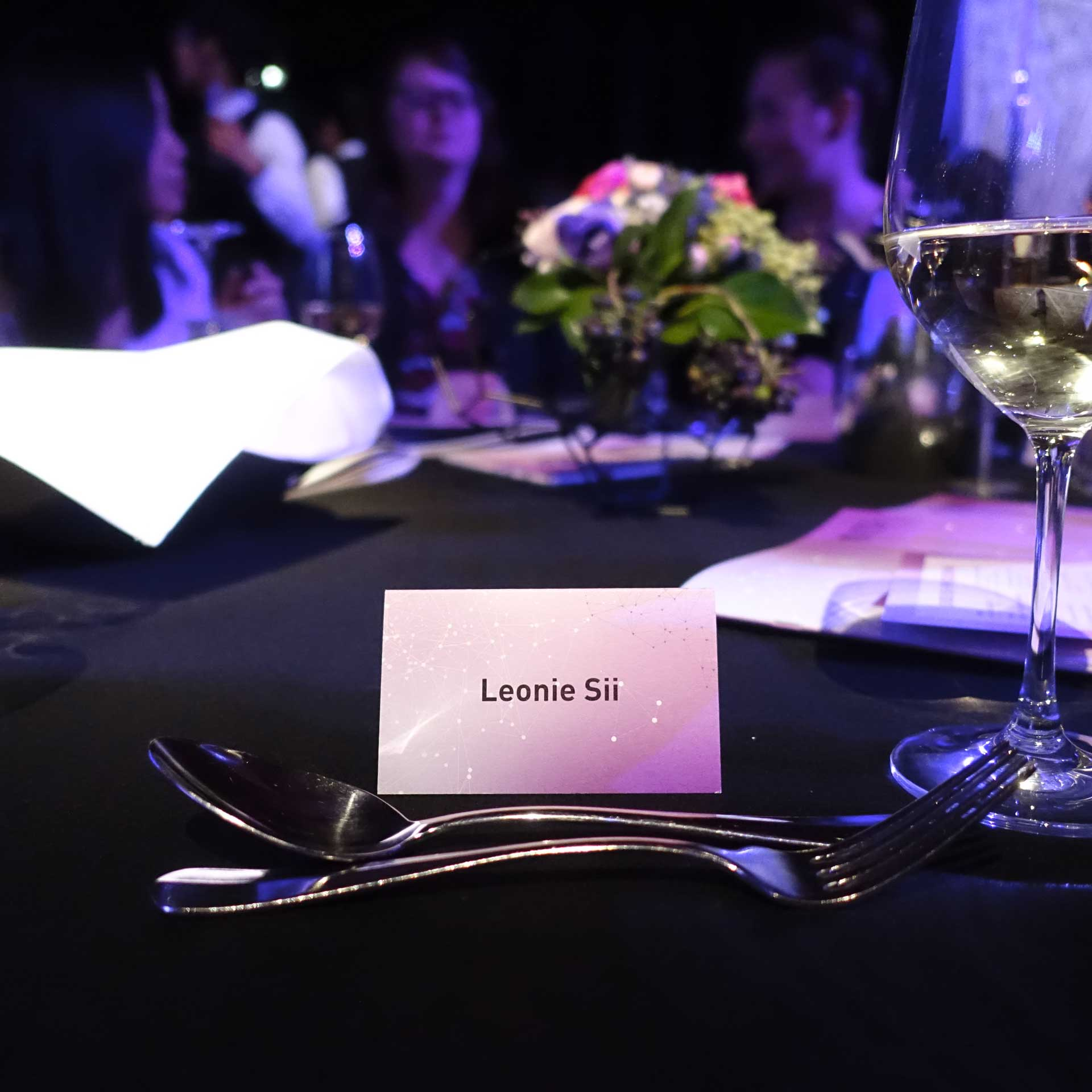 My table for the UTS Alumni Awards