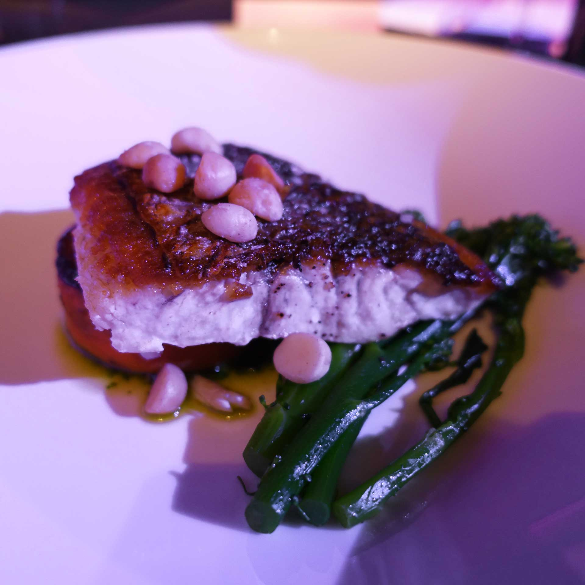 Roast barramundi UTS Alumni Awards