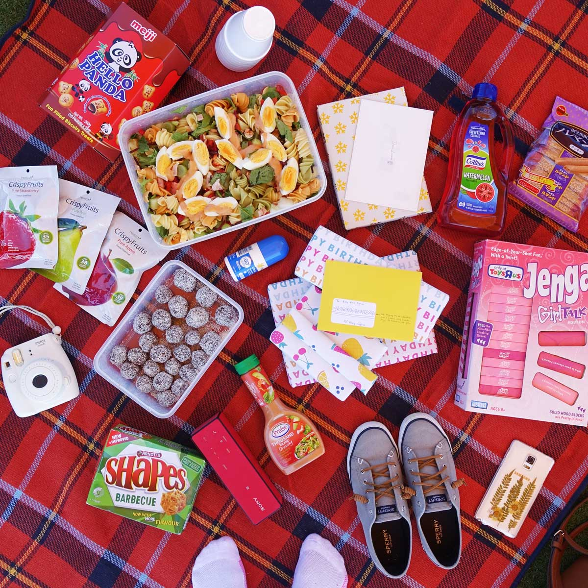 Celebrating my 24th with a picnic!