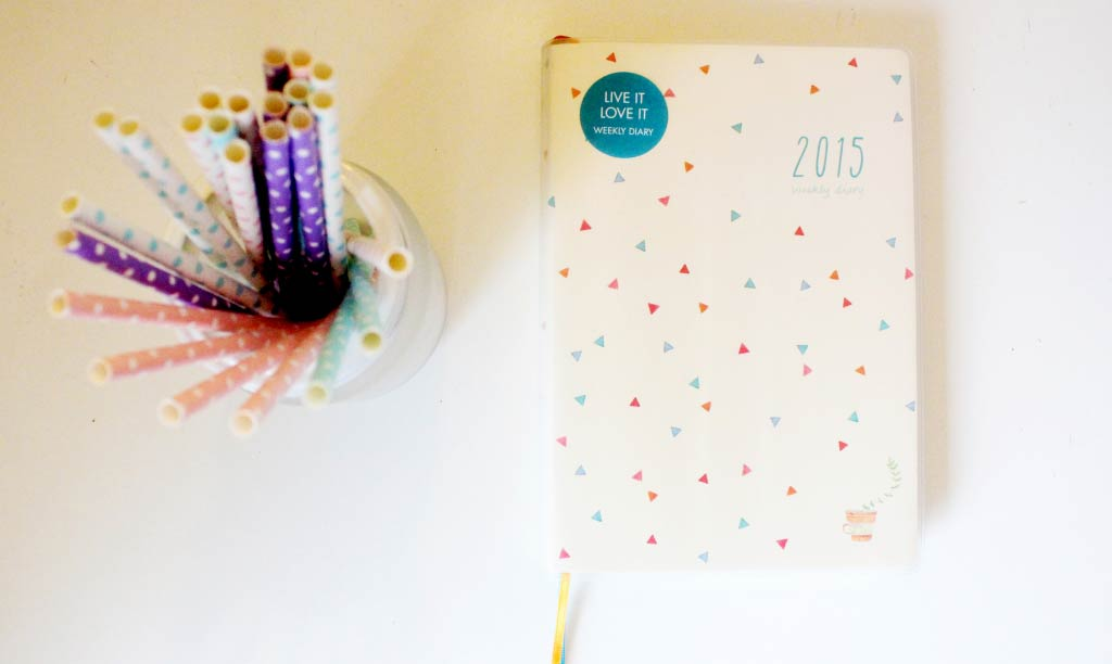 Kikki.K 2015 Weekly Diary