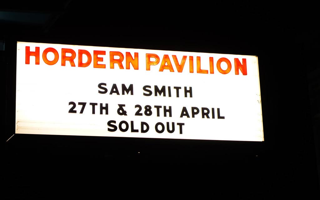 Sam Smith in Sydney
