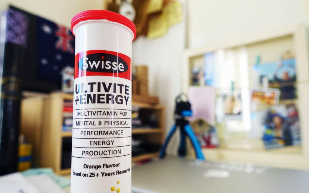 Swisse Ultivite + Energy Tablets