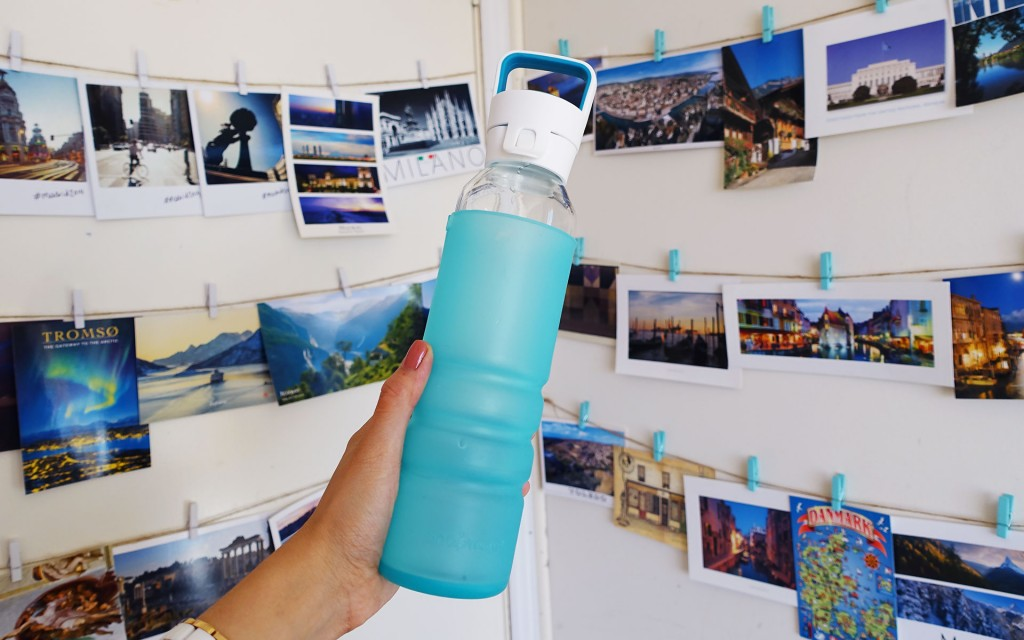 Glass Drink Bottle