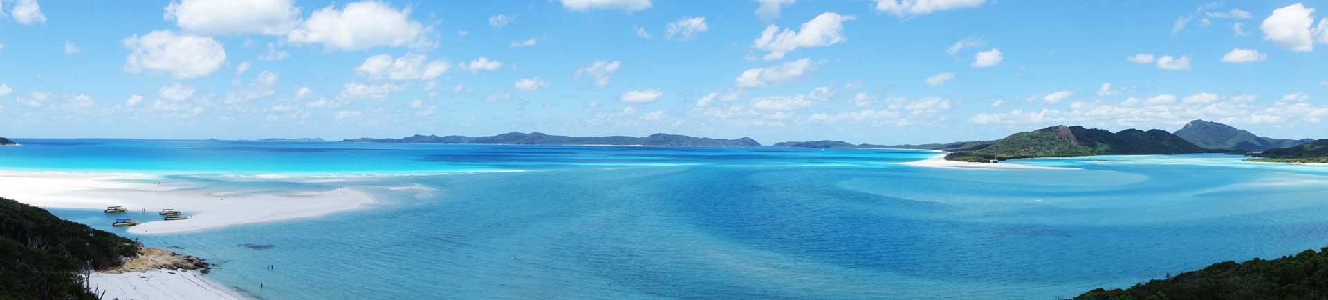 Australia's Best Beach Whitehaven Beach Panorama