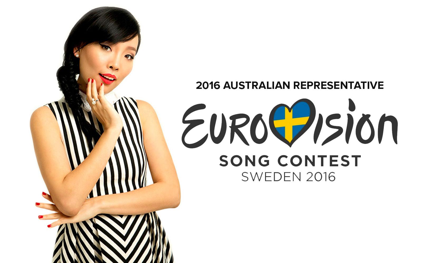 Dami Im to represent Australia in Eurovision 2016 Stockholm Sweden