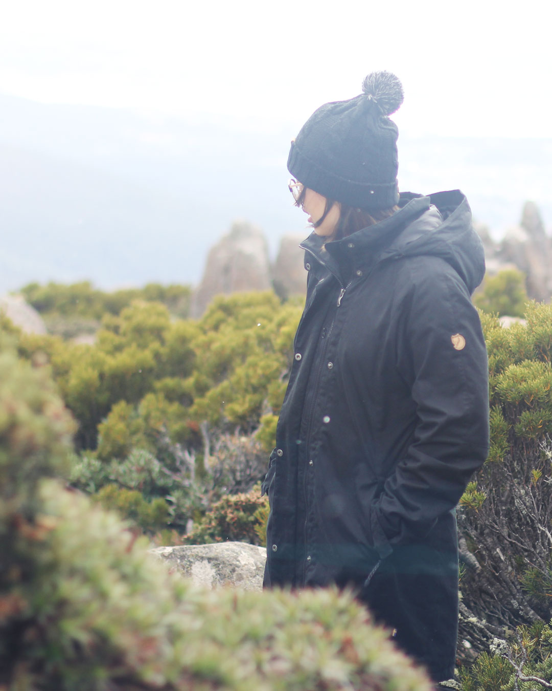 Leonie on Mount Wellington Tasmania