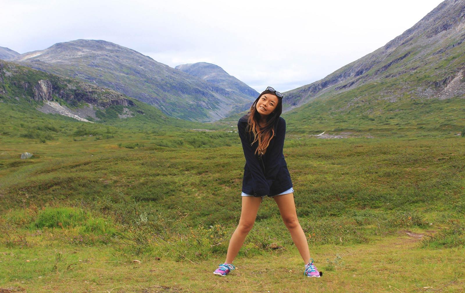 Leonie in Norway