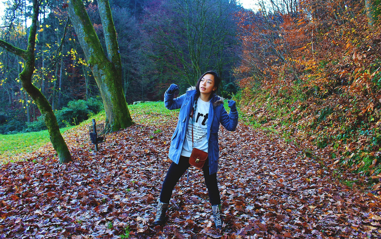 Leonie in the Black Forest Germany