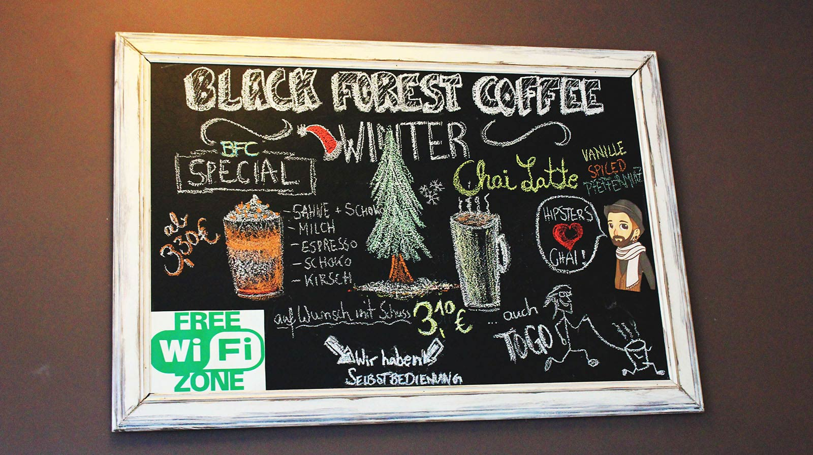 Black Forest Coffee Cafe
