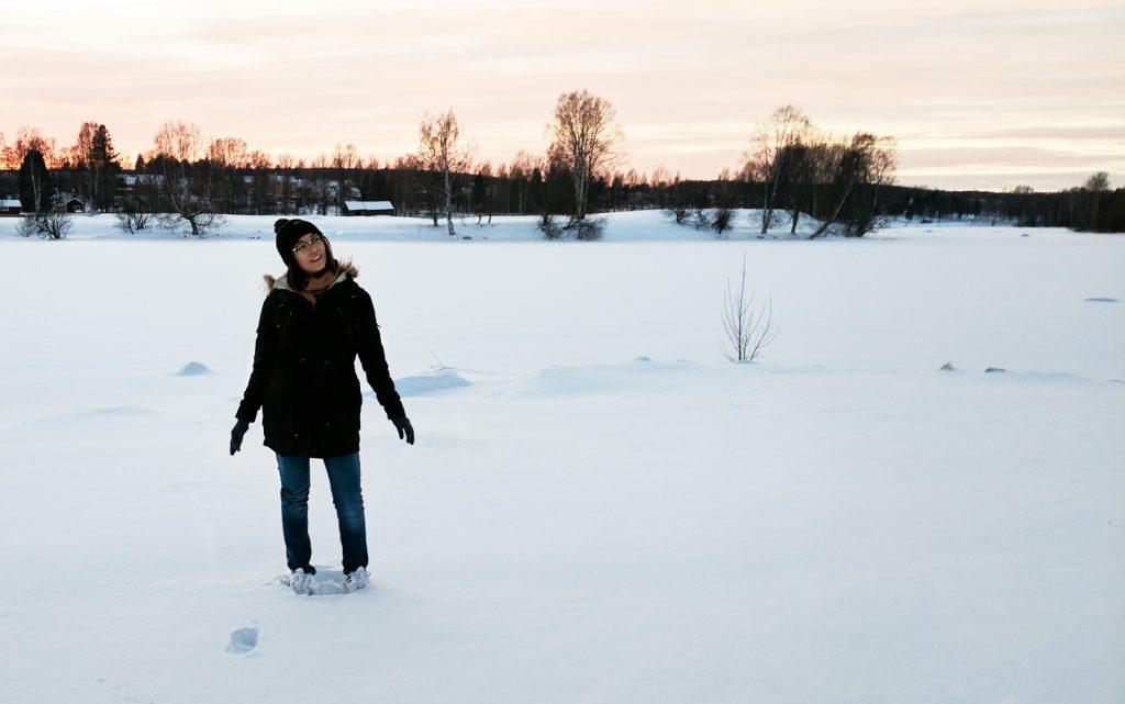 Snö i Skellefteå –Photos from the North of Sweden