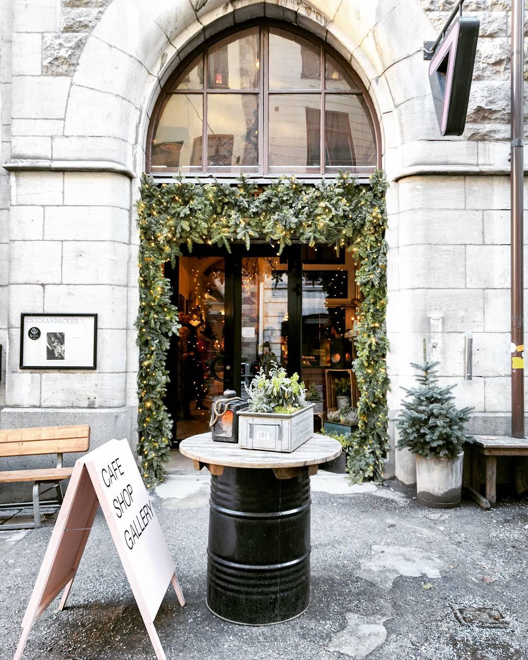 Snickarbaken 7 Cafe in Stockholm