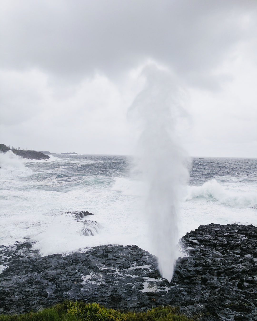 The Little Blowhole in Kiama