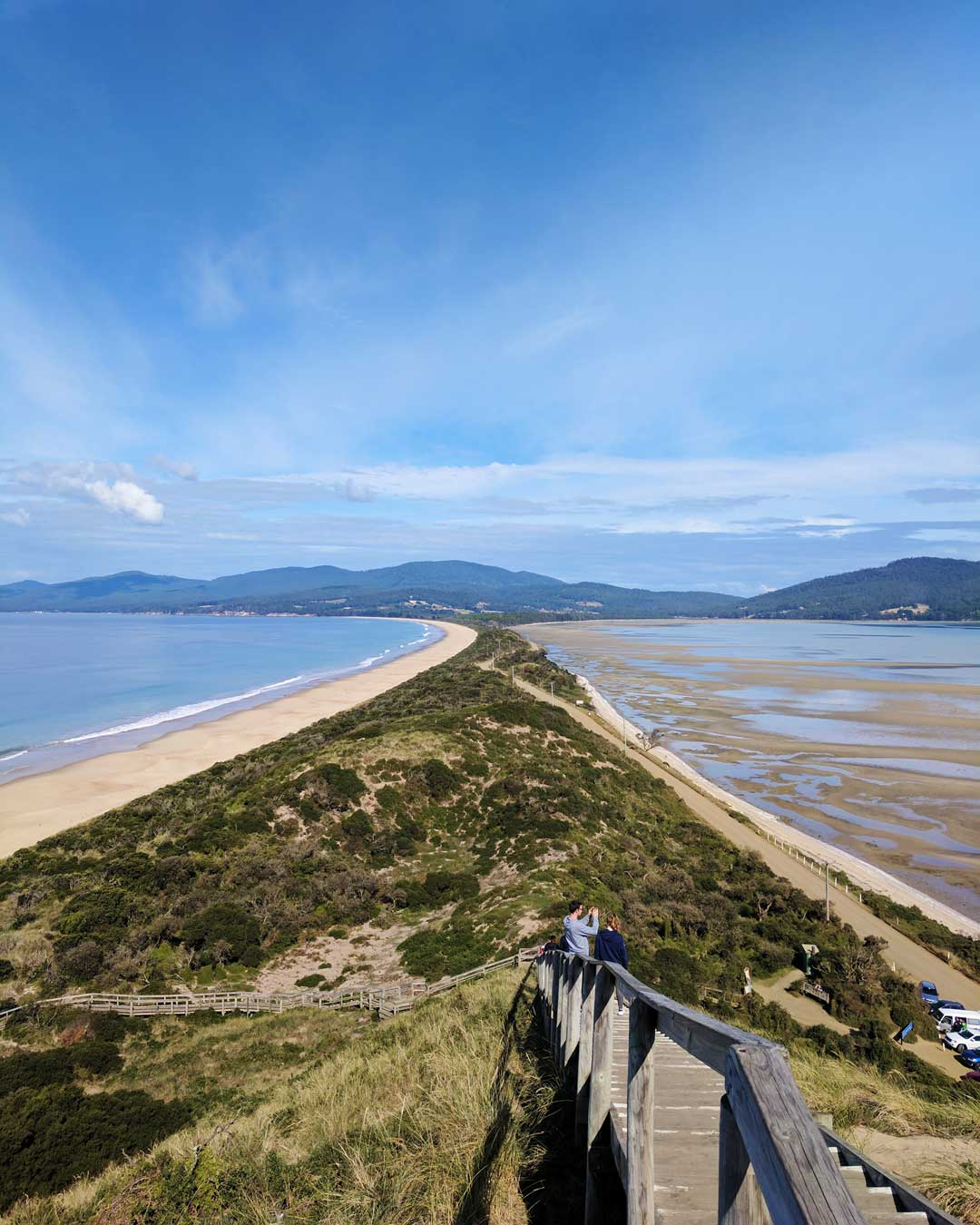 The Neck Lookout Bruny Island Tasmania Australia