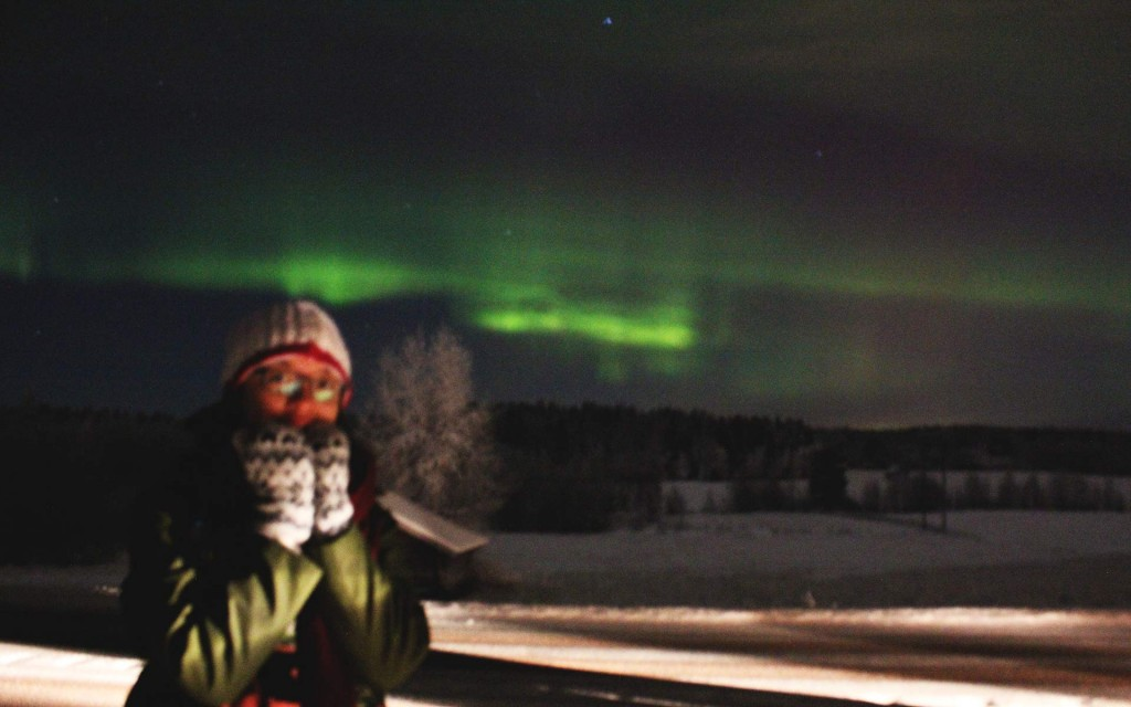 Northern Lights in North Sweden