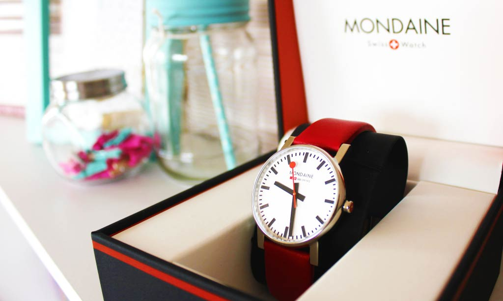 Mondaine Swiss Watch