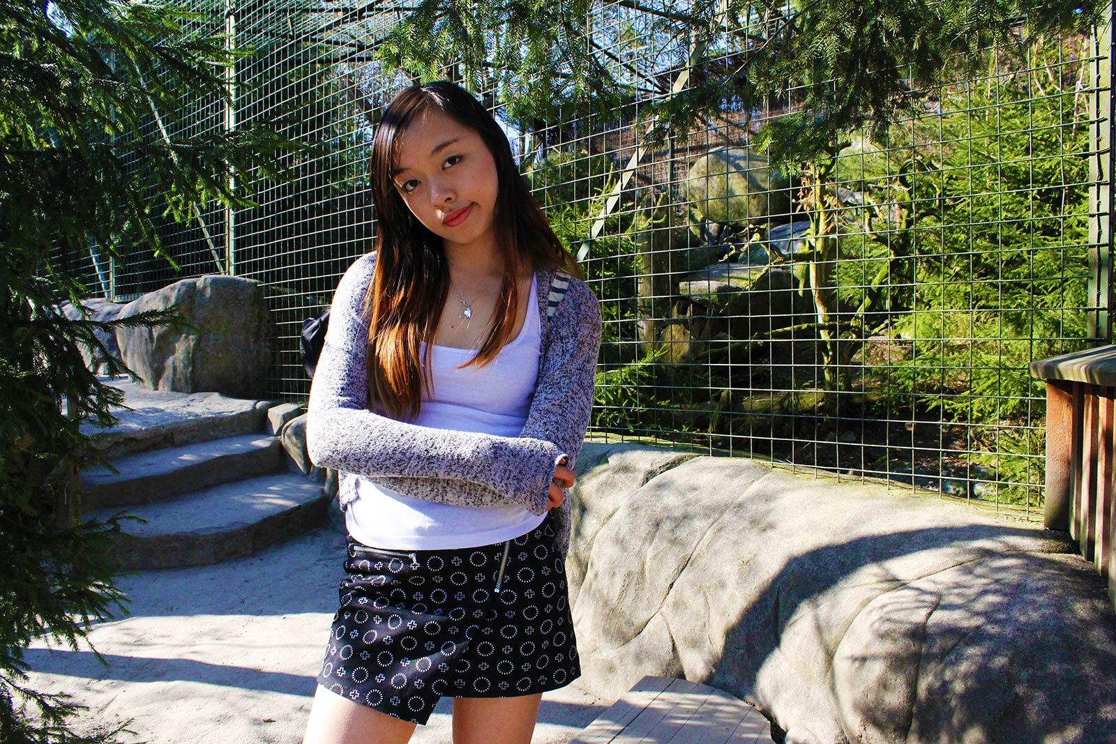 Leonie in Skansen