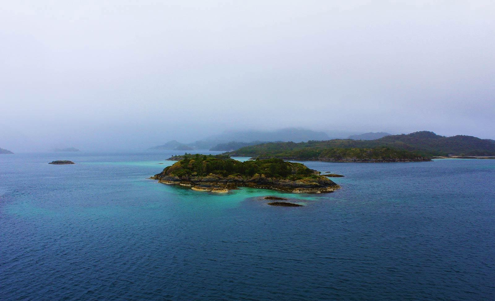 Little Islands in Norway
