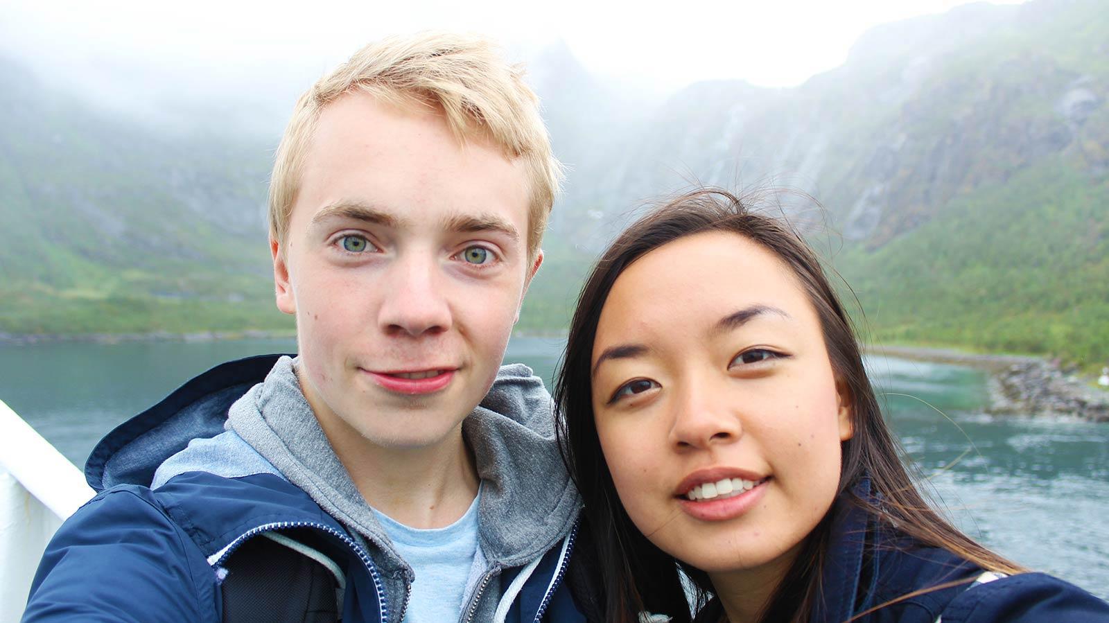 Mattias and Leonie in Norway