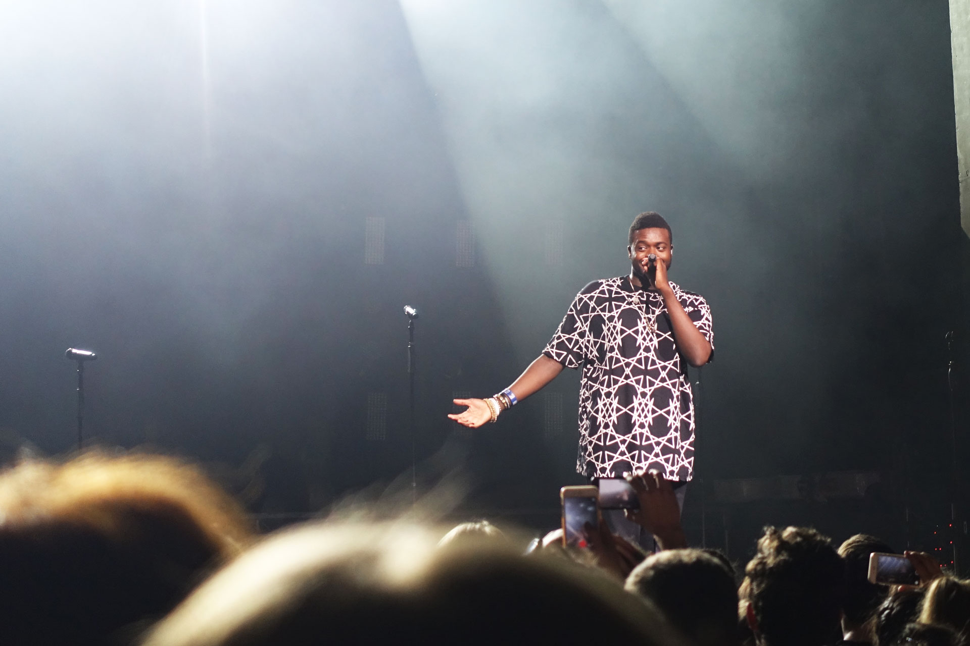 Kevin K.O. Olusola live in Enmore Theatre Sydney