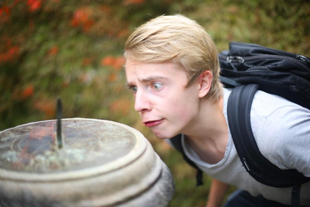 Mattias looking quizzical