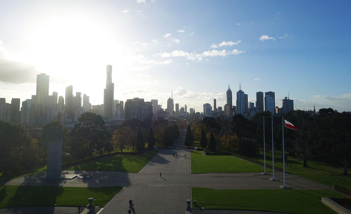 The gorgeous Melbourne Skyline