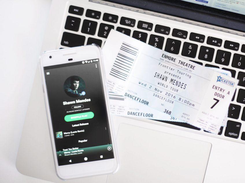 Shawn Mendes Concert in Sydney