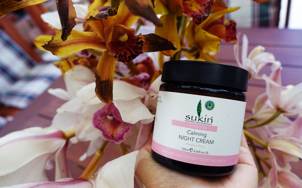 Sukin Calming Night Cream Organic Vegan Ecological Certified Australian Makeup Skincare