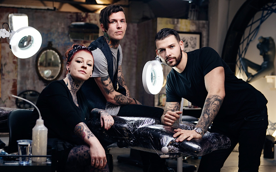 Tattoo Fixers British TV Show Series