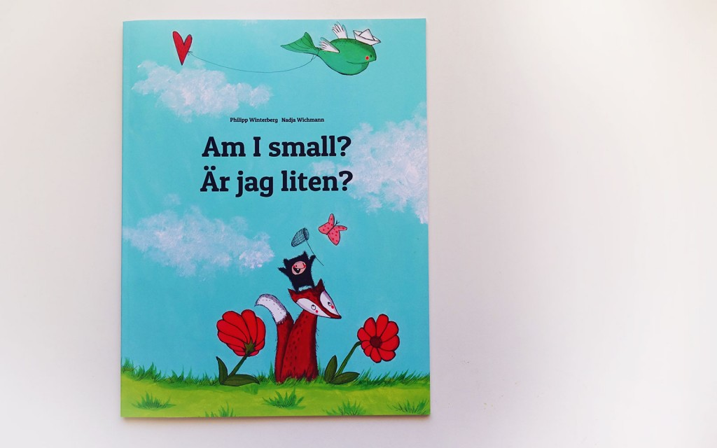 bilingual swedish childrens book
