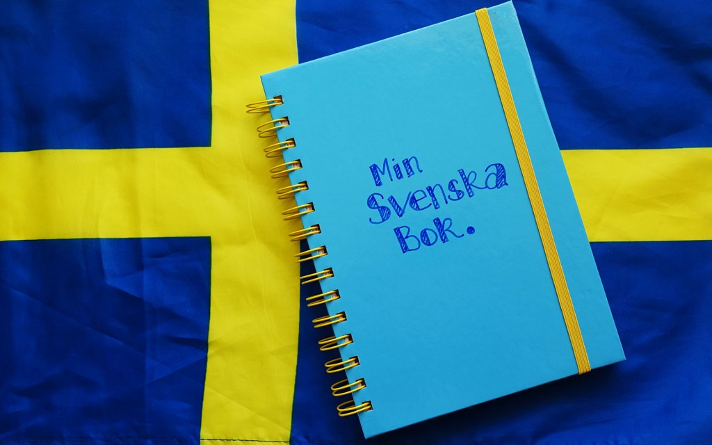 Swedish Journal Min Svenska Bok