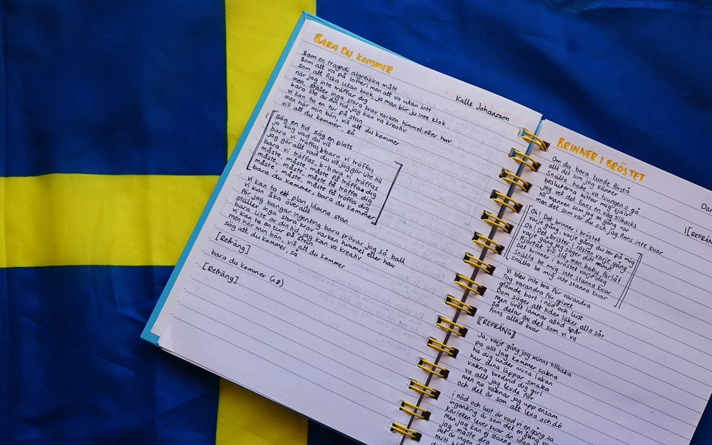 Swedish lyrics