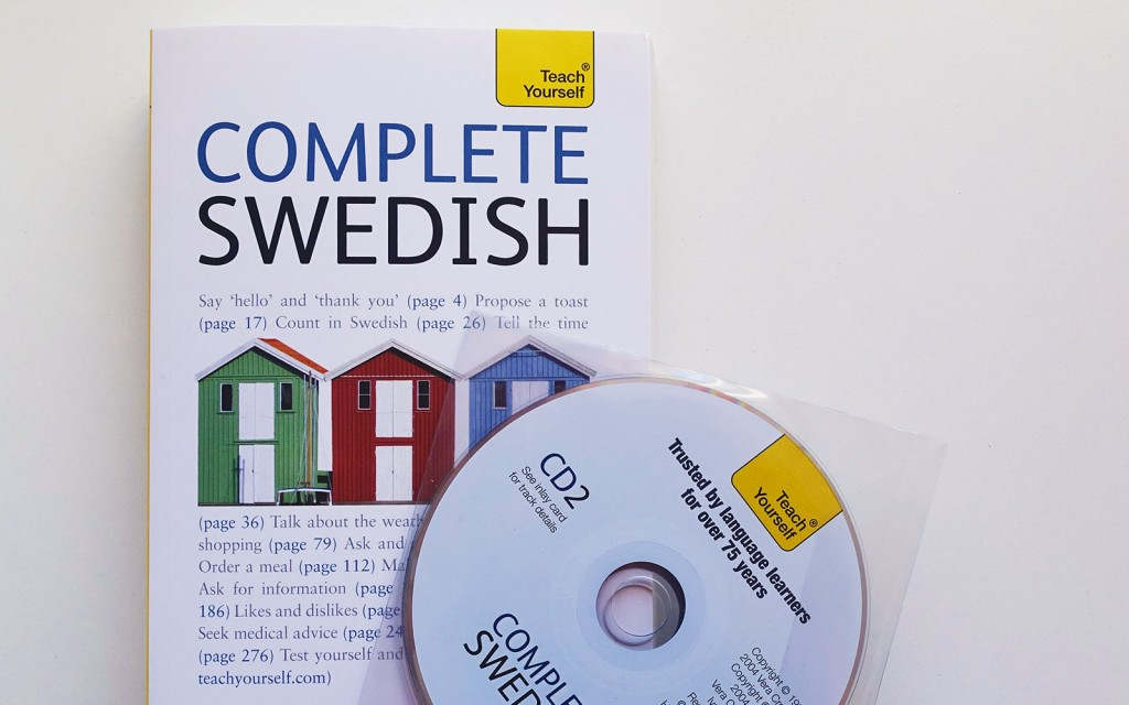 Teach Yourself Complete Swedish textbook and audio CDs