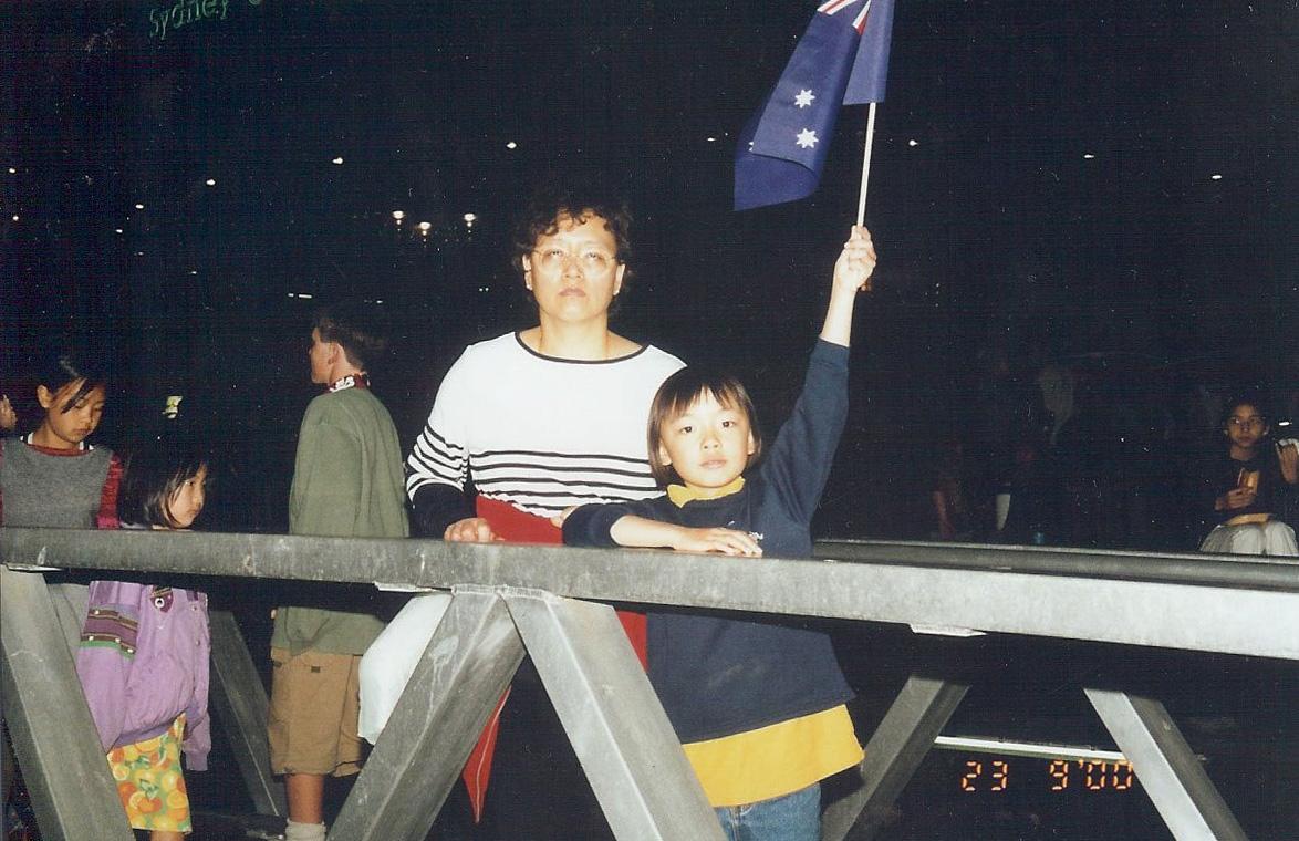Mum and I in Australia